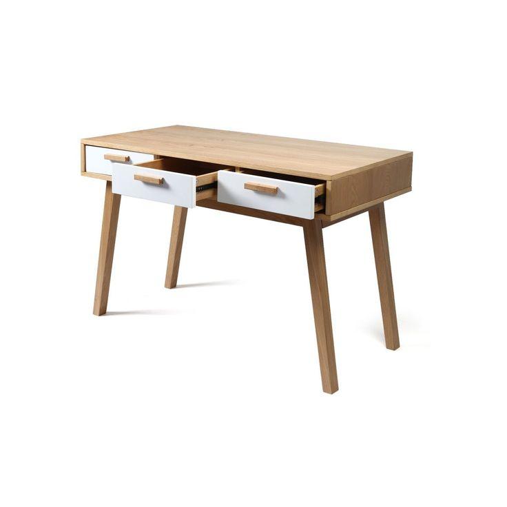 bureau design scandinave helia miliboo la redoute 10. Black Bedroom Furniture Sets. Home Design Ideas