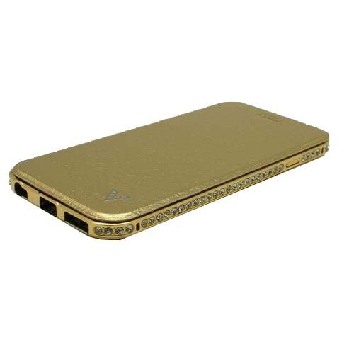ΘΗΚΗ IPHONE 5/5S/SE LUXURY BOOK ΧΡΥΣΟ