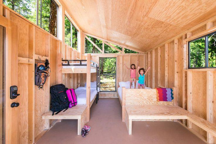 Small Prefab Homes - Prefab Cabins: The Wedge Prefab Cabins in California State Parks cabins.prefabium.com