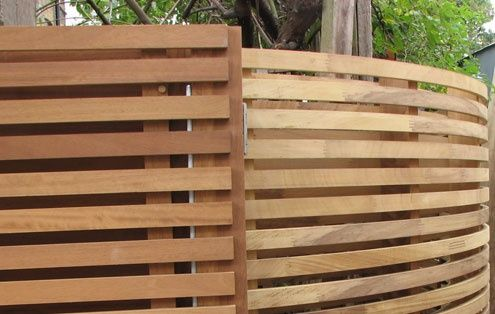 Curved Garden Fence Google Search Garden Fence Panels