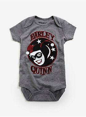 DC Comics Harley Quinn Baby Bodysuit | BoxLunch