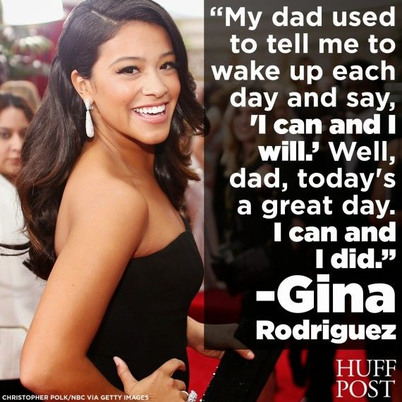 Gina Rodriguez Wins Best Actress At The Golden Globes, Gives Powerful Speech -- I love her so much. Very inspiration.