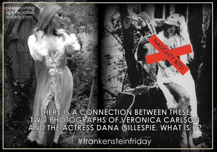 PETERCUSHINGBLOG.BLOGSPOT.COM (PCASUK): VERONICA CARLSON DANA GILLESPIE CONNECTION? #FRANKENSTEINFRIDAY