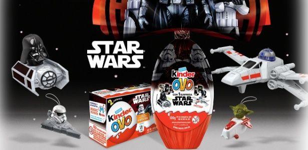 Ovos de Páscoa da Kinder Ovo terão brindes de Star Wars
