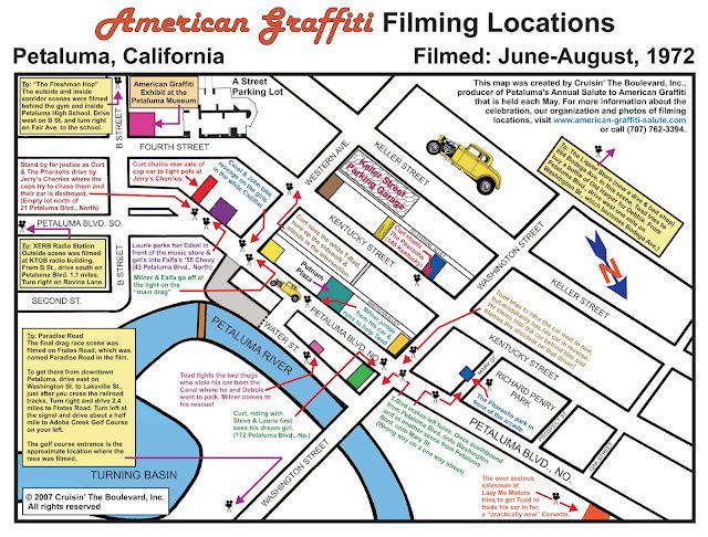 Filming Locations In 2021 American Graffiti Filming Locations Graffiti