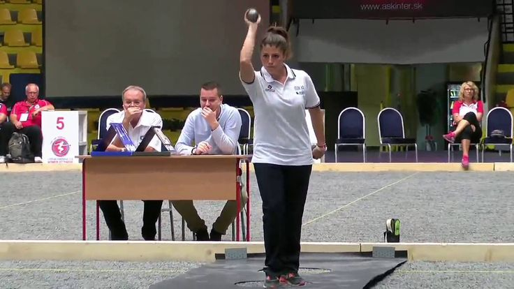 European Championship 2016   Women's Italy Petanque   Qualification of P...