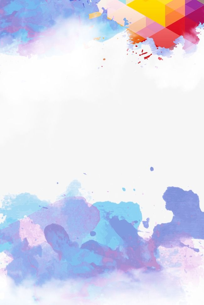 Watercolor Background In 2020 Poster Background Design