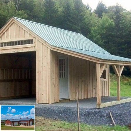 How To Create Your Own Garage Workshop Building A Shed Backyard