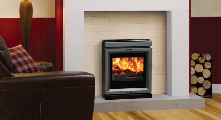 Stovax View 7hbi Wood Burning Fire at Fireplacce World Glasgow. http://www.fireplace-world.com