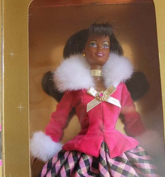 Vintage Avon Winter Rhapsody Barbie in Original Box by ZuziDesign, $19.90