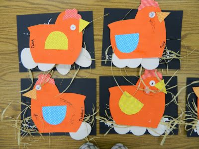 Preschool farm: chickens