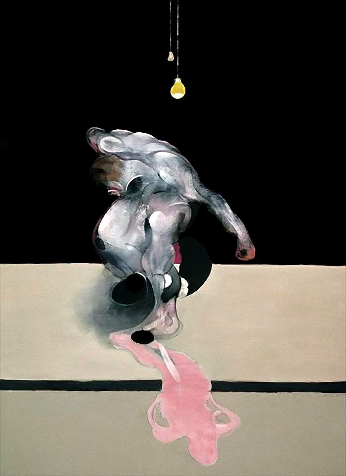 Francis Bacon, Triptych March 1974 (central panel)