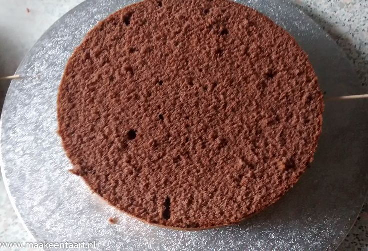 Chocolade biscuit maken