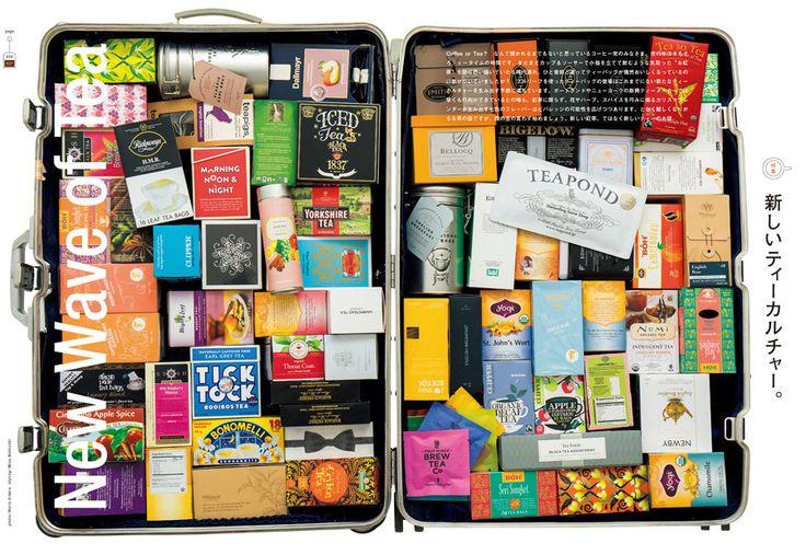リーフに花やフルーツやスパイスにハーブをミックス素材へのこだわりはもちろん、より自由においしくなっているブレンドティー。詩的なネーミングやパッケージデザイン、タグに書かれた一文など、一袋にティーメーカーのメッセージを包み込んだティーバッグの楽しさ。東京、ロンドン、パリ、NYでうごめく各都市のティームーブメントなどなど。この一冊で、いま世界で起こっている新しく、多様なティーカルチャーが分かります。 No.842 CONTENTS features 026 特集 新しいティーカルチャー。 New Wave of Tea 028 新しいティーメーカーの先駆け、 スティーブン・スミスのテイスティングルームを訪ねました。 032 スタイルのあるティーメーカー。 038 ティーバッグマニアのための細かすぎるアレコレ。 044 はじめてのスパイスティー。 048 毎日のティーが買える店。① 049 特別付録 Tea Bags for Everyday 毎日飲みたい! ティーバッグブランド110選。 065 毎日のティーが買える店。② 072 毎日のティー。…