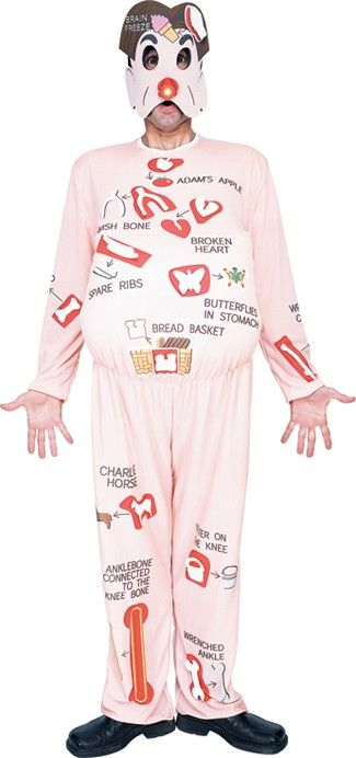 Operation Board Game Funny Adult Costume
