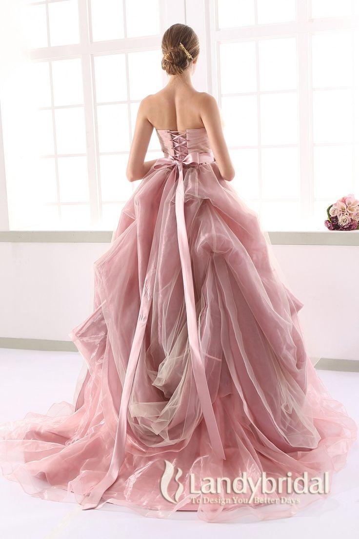 カラードレス プリンセス 取り外し式ベルト ビスチェ ピンクベージュ アイスオーガンジー JUL015002 価格 ¥61,452
