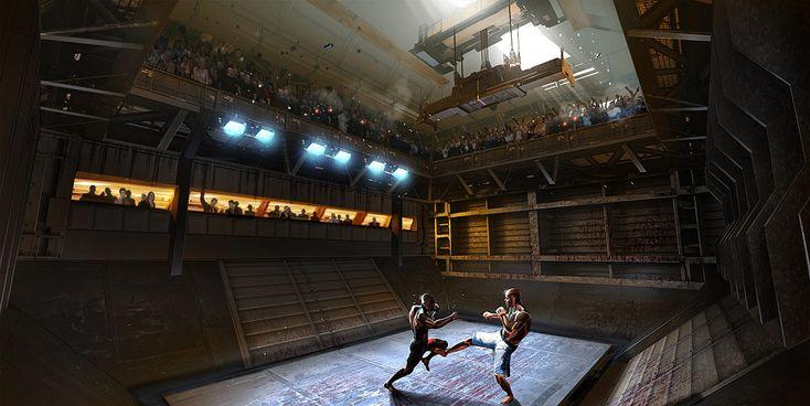 Fighting Arena, Panama Rose, Eric Felten on ArtStation at ...