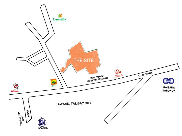 Amandari Eco Conscious Residential Living, Talisay City Location Map