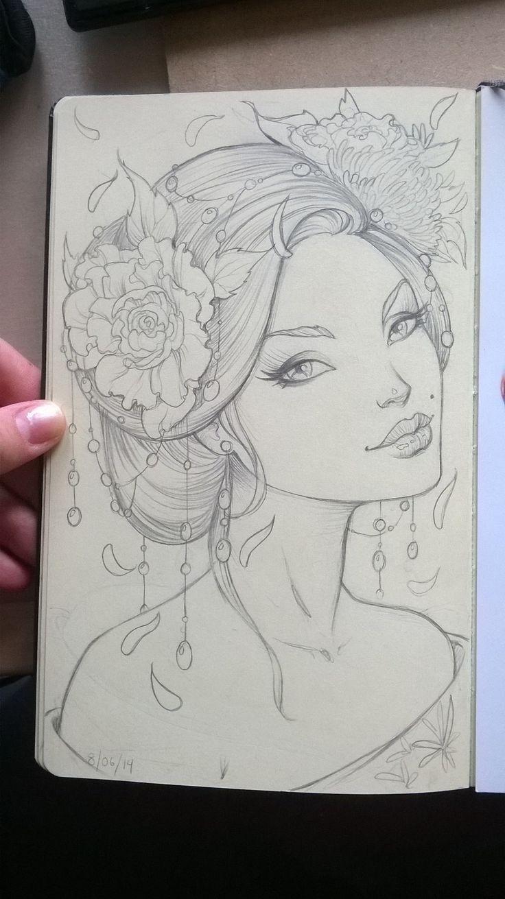 Summer Geisha by Sabinerich.deviantart.com on @deviantART