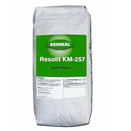 Vízzáró habarcsok : Resolit KM-257 25 Kg Ár5282 Ft
