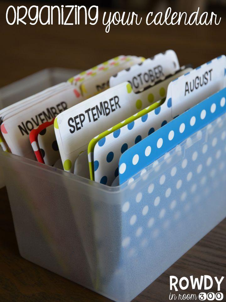 Calendar Organization Tips : Best classroom calendars images on pinterest