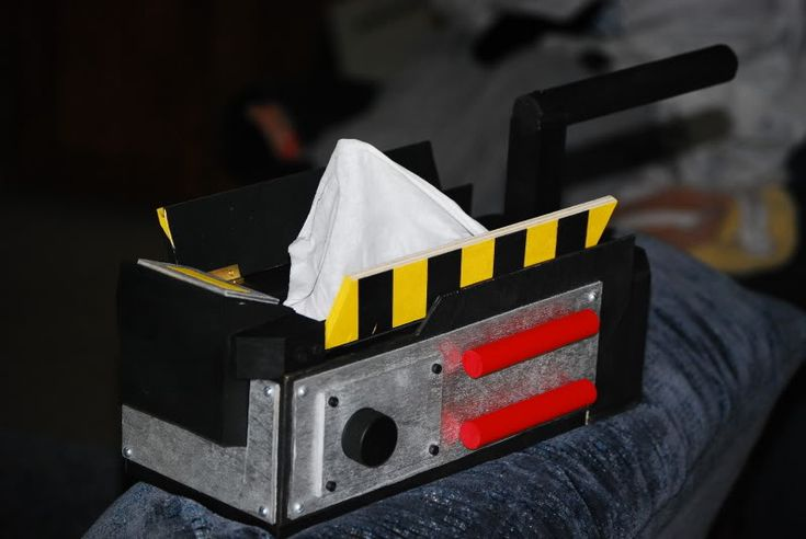 ghostbusters trap/tissue box