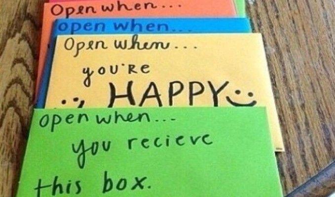 """""""Open When"""" Letters   Dormify"""