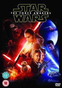 Star Wars The Force Awakens DVD Box Cover Artwork
