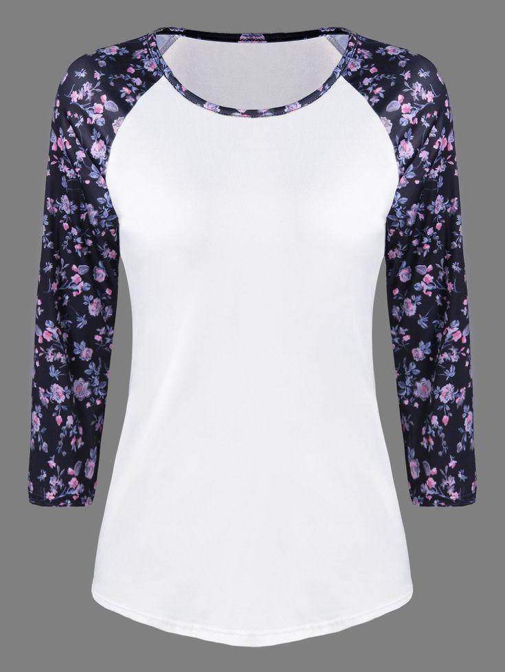 Floral Print T-Shirt
