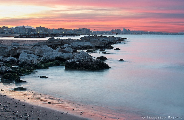 Tramonto sulla Riviera, Cattolica by Francesco Magnani, via Flickr