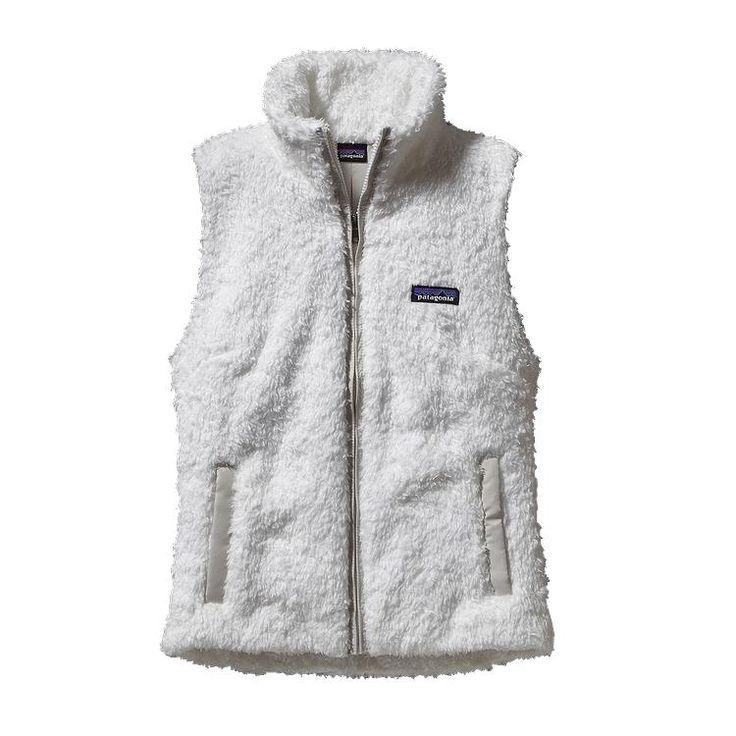 TOP WISHLIST ITEM: Patagonia Women\'s Los Gatos Fleece Vest - Birch White BCW