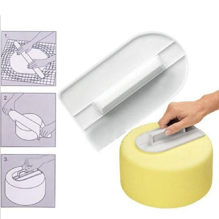 Plastic Cake Smoother Polisher