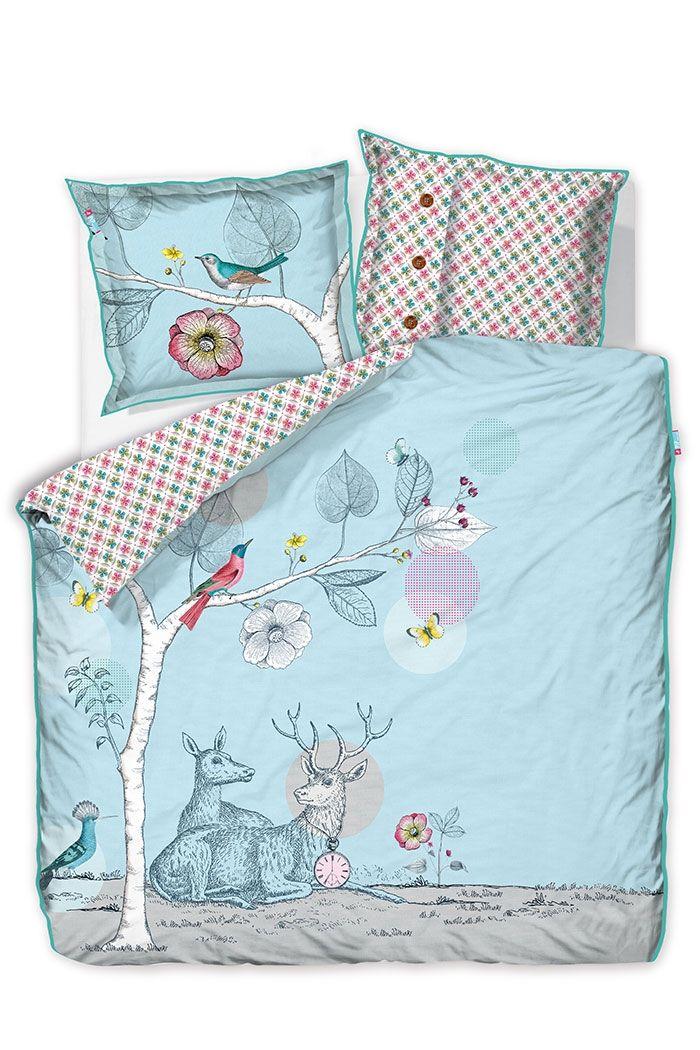 PiP My Deerest   Blue bedding   PiP Studio ©
