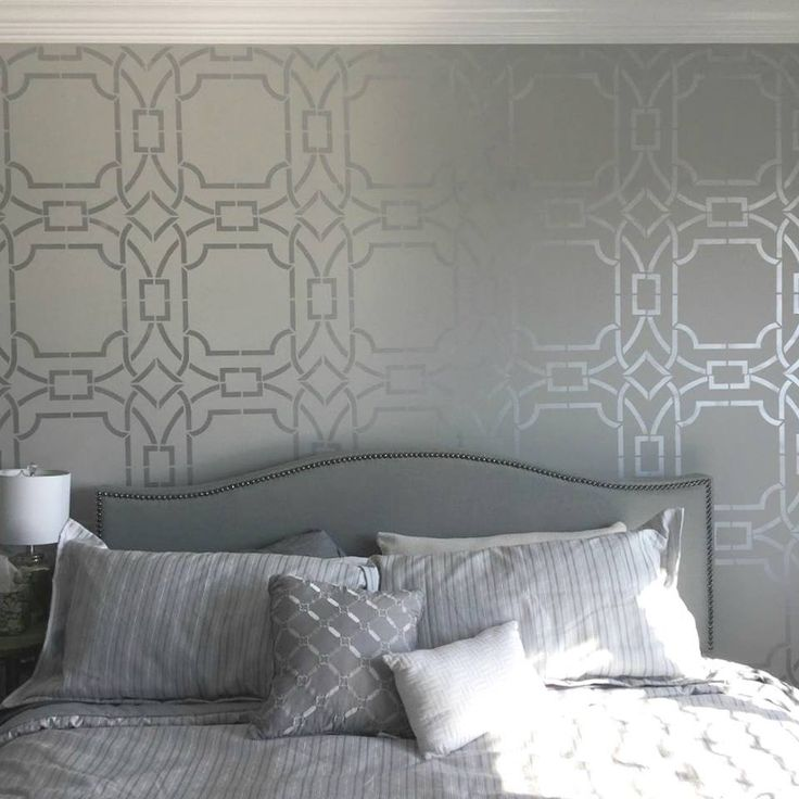 Best 25 wall paint patterns ideas on pinterest - Wall painting stencils for living room ...