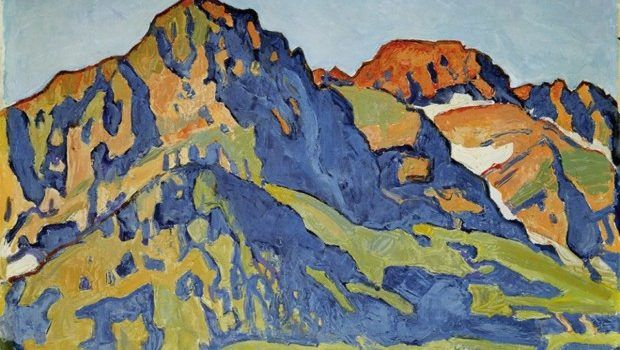 Ferdinand Hodler, Die Dents Blanches, 1917, Kunstmuseum Bern