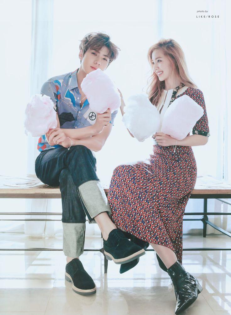 """ like rose "" Sehun and Irene"