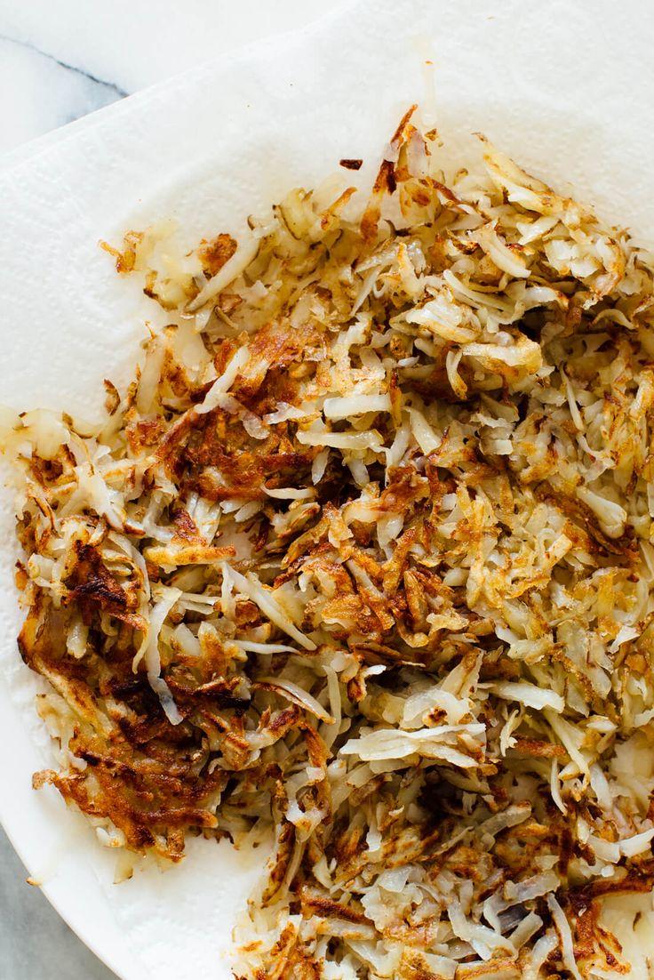 golden crispy hash browns recipe