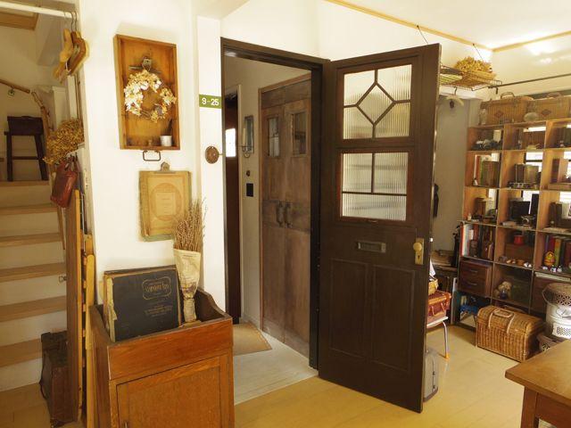 ドアや窓は面積が広いだけに お部屋の雰囲気を左右する重要な要素