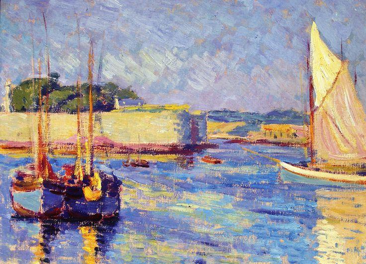 Jozef-Pankiewicz_Port-w-Concarneau