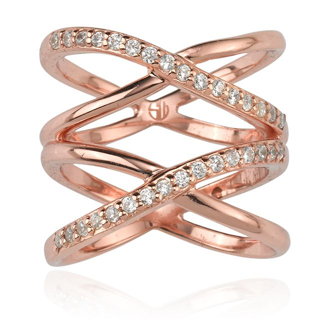 SAMANTHA WILLS - MY HEARTS INFINITY RING - ROSE GOLD