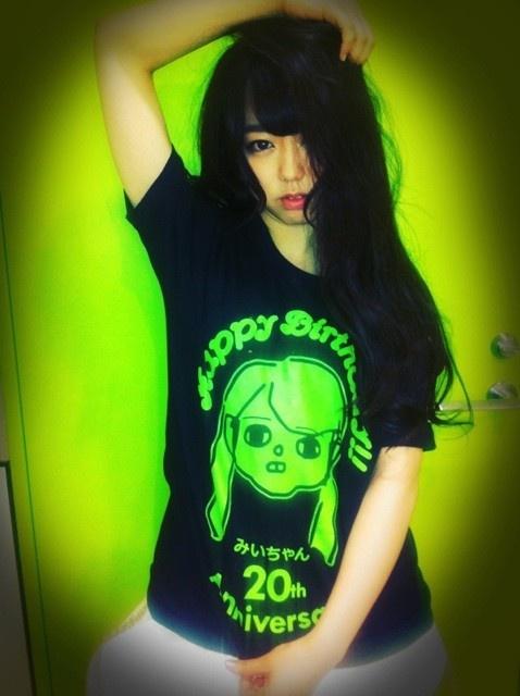 【G+まとめ】小嶋陽菜が峯岸みなみの二十歳を記念してセンス溢れるTシャツを作成 - AKB48まとめんばー