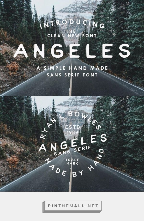 Angeles by Ryan Bowles Design