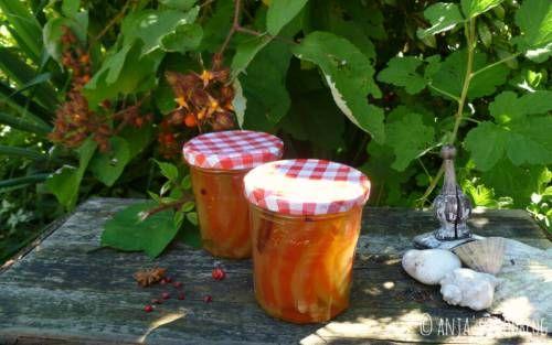 No Waste: zoetzuur gemaakt van de schil van de watermeloen. Lekker!!!