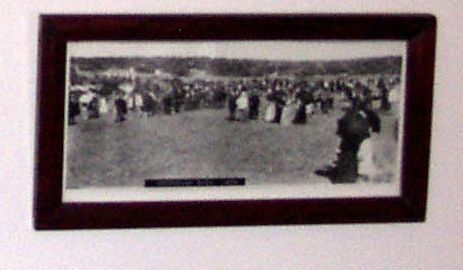 Framed photograph of the Greenough Show.