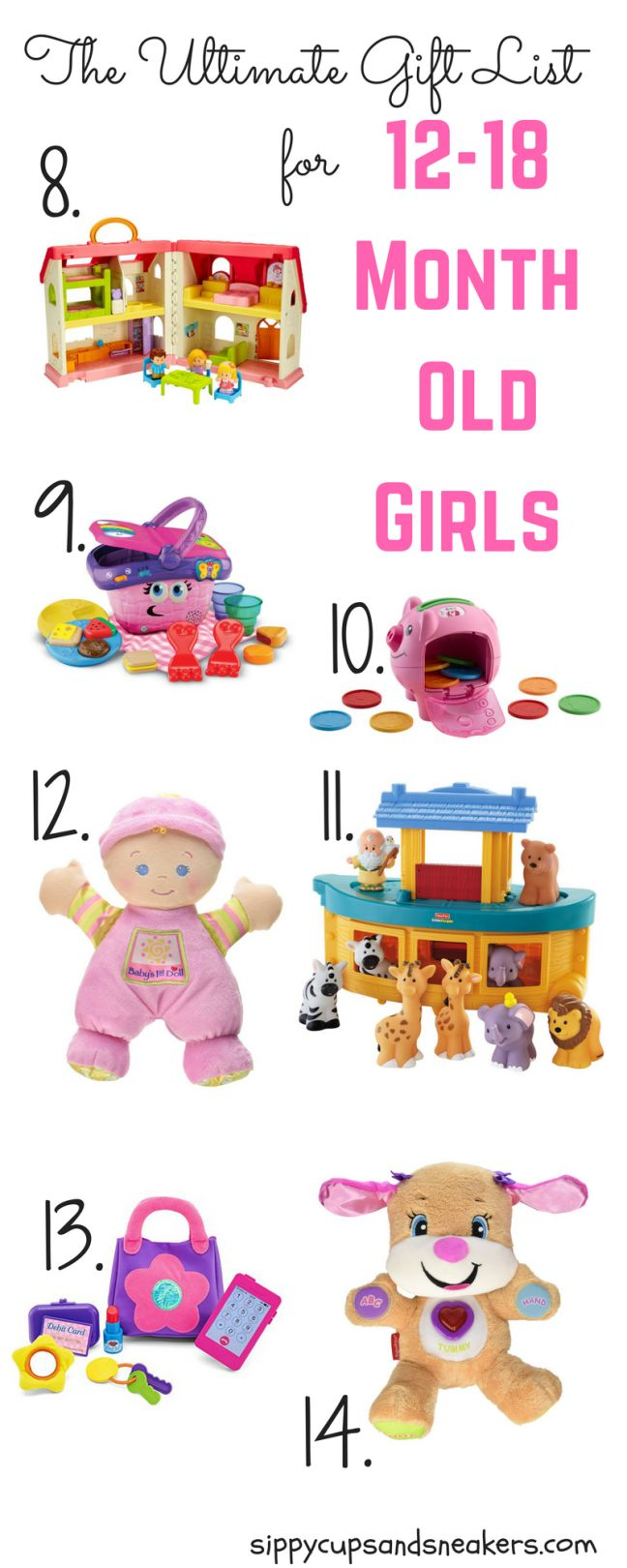 Toys For 12 18 Months : The ultimate gift list for month old girls gifts