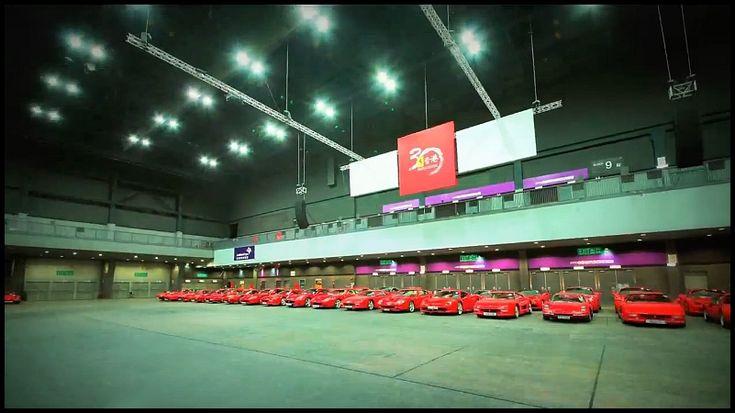 Ferrari : Trois décennies à Hong Kong, ça se fête !  (vidéo)