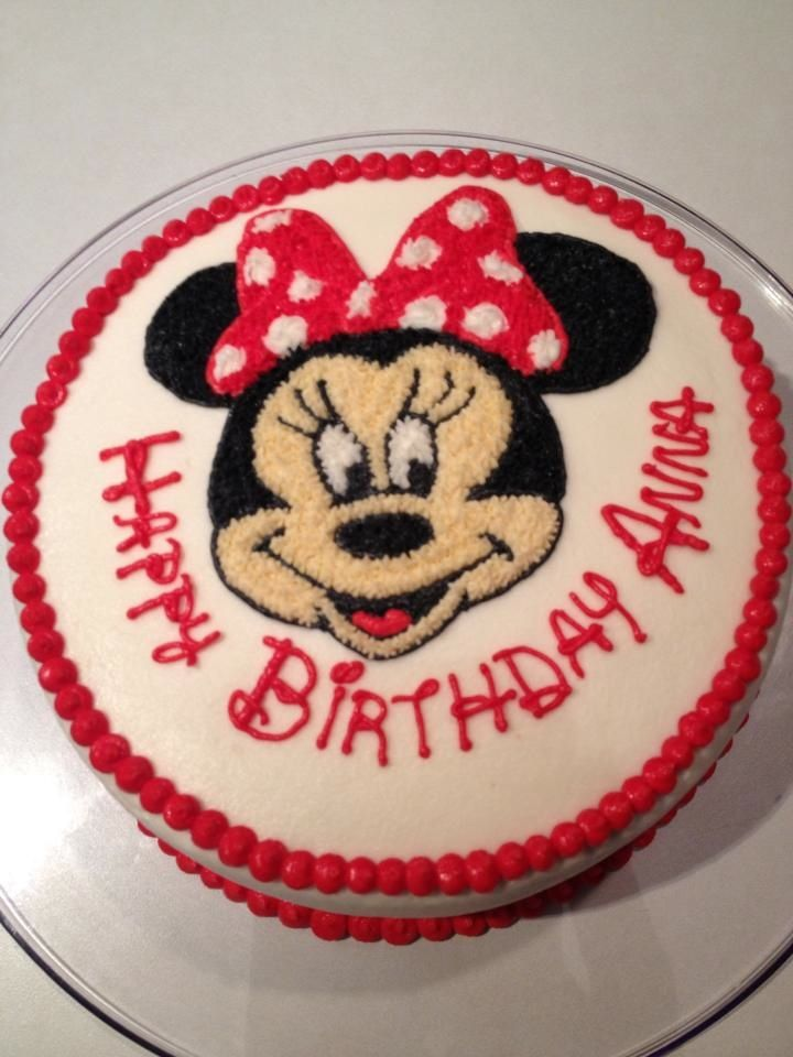 Pictures Of Minnie Mouse Cakes