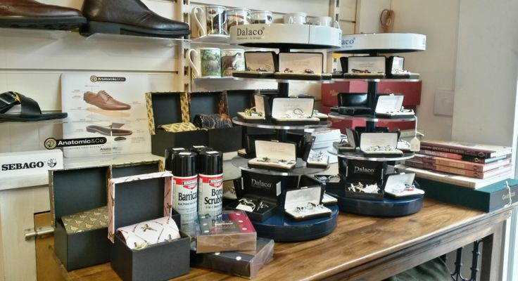 We've got a wonderful range of Father's Day gifts in store, from mugs, cufflinks, ties and socks to shirts, sweaters and wallets. Pop in and browse the range at Luck of Louth.