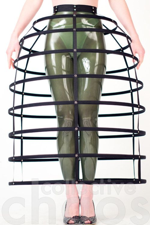 Dome Cage Skirt by collectivechaos on Etsy, $250.00