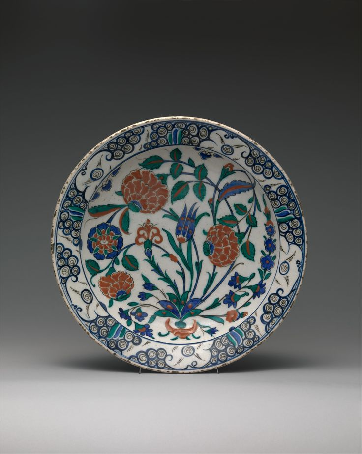 Dish Date: 16th century Geography: Turkey, Iznik Culture: Islamic